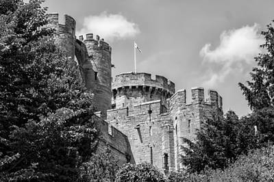 Gatehouse Photograph - Warwick Castle by Georgia Fowler