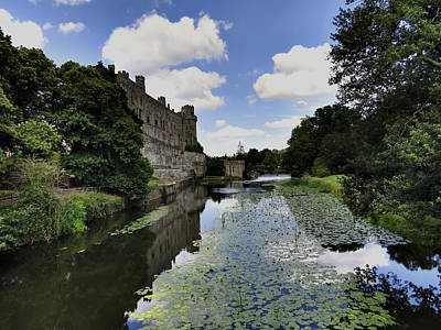 Photograph - Warwick Castle by Ron Grafe