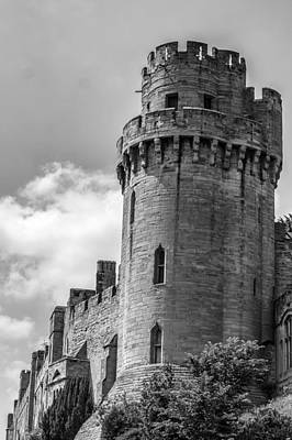 Gatehouse Photograph - Warwick Castle Turret by Georgia Fowler