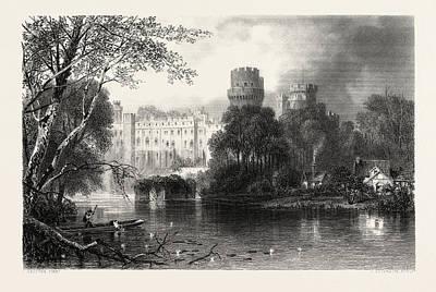 Warwick Castle, Uk, Great Britain, United Kingdom Art Print by English School