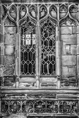 Warwick Cathedral Window Art Print by Georgia Fowler