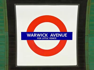 Warwick Station Art Print