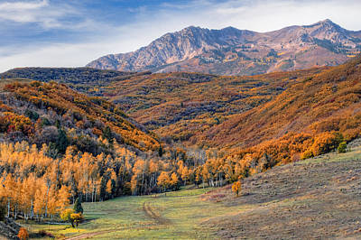 Photograph - Wasatch Moutains Utah by Douglas Pulsipher