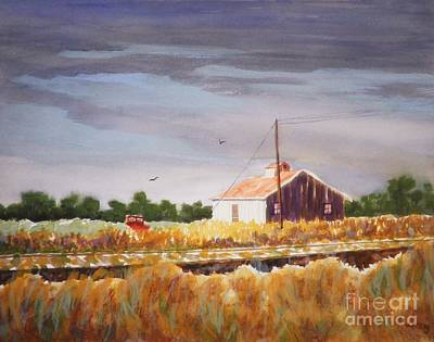 Painting - Wasco Oregon Summer by Suzanne McKay
