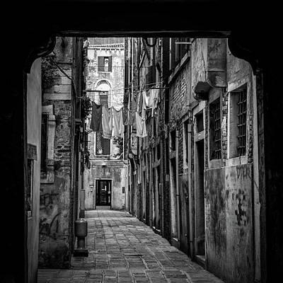 Venice Photograph - Wash Day 2 by Richard Bland