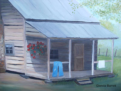 Painting - Wash Day by Glenda Barrett