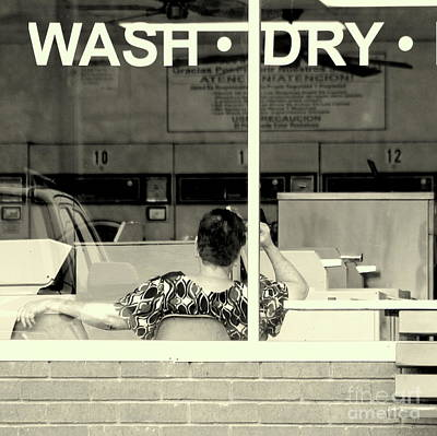 Wash Dry Wait Fold Art Print
