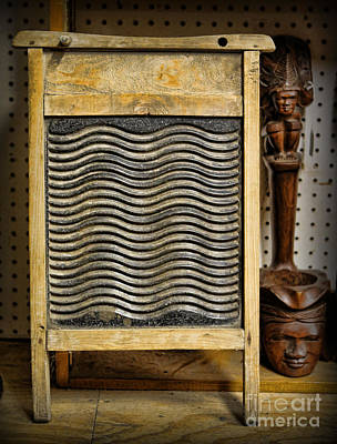 Old Washboards Photograph - Washboard  by Lee Dos Santos