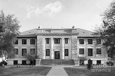 Photograph - Washburn University Carnegie Hall by University Icons