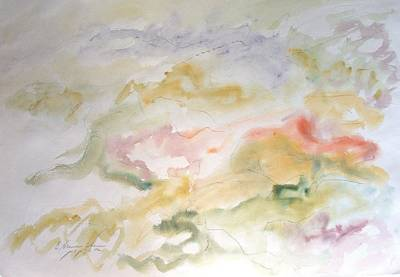 Painting - Washed By The Storm by Esther Newman-Cohen