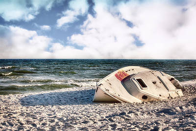 Photograph - Washed Up by Sennie Pierson
