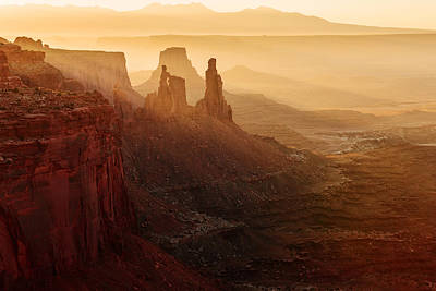 Arches National Park Photograph - Washer Woman Tower Sunrise by Dan Mihai