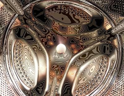 Washing Machine Drum Art Print by Craig Yates