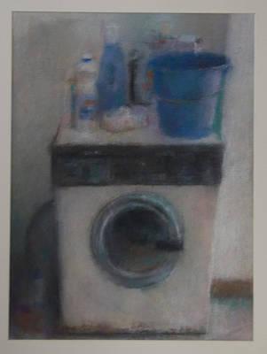 Washing Machine Art Print by Paez  Antonio