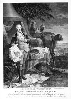 Photograph - Washington At Yorktown by Granger