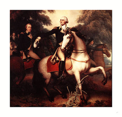 Washington Before Yorktown, By Peale, Rembrandt Art Print