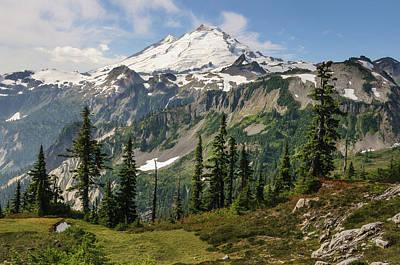 Cascade Mountains Snoqualmie National Forest Photograph - Washington, Cascade Mountains by Matt Freedman