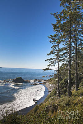 Photograph - Washington Coast by Ronald Lutz