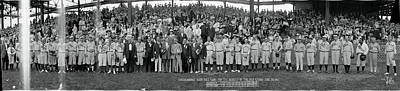 Benefit Photograph - Washington Congressional Baseball Game by Fred Schutz Collection