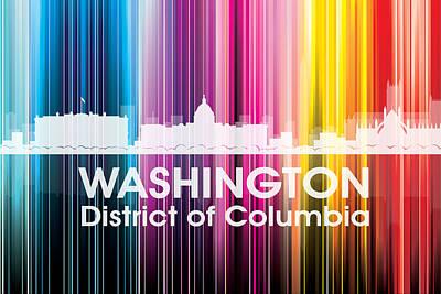 Icon Mixed Media - Washington Dc 2 by Angelina Vick