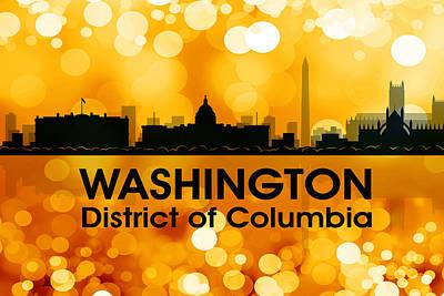 Icon Mixed Media - Washington Dc 3 by Angelina Vick