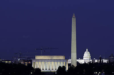 Photograph - Washington D.c. by David Freuthal