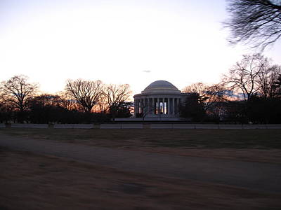 Washington Dc - Jefferson Memorial - 12121 Art Print