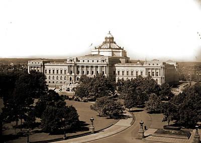 Washington D.c Drawing - Washington, D.c, Library Of Congress, Library Of Congress by Litz Collection