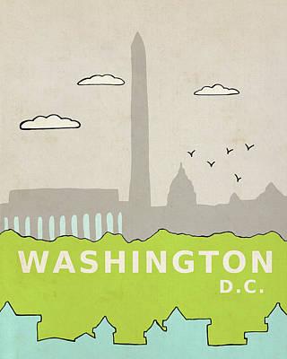 Washington Dc Painting - Washington Dc by Lisa Barbero