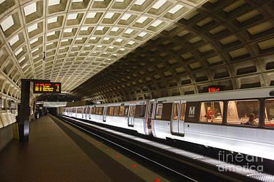Photograph - Washington Dc Metro Station IIi by Clarence Holmes