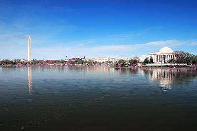 Photograph - Washington Dc Panorama by Songquan Deng