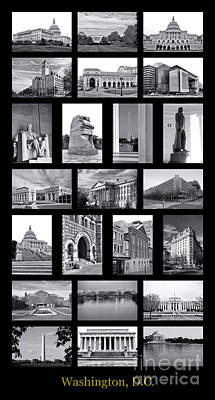 Washington Dc Poster Art Print by Olivier Le Queinec