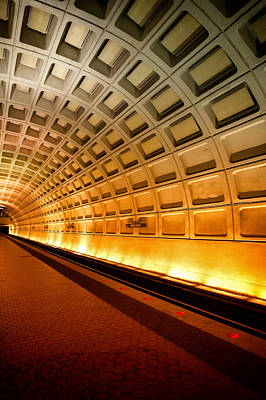 Photograph - Washington Dc Subway by Celso Diniz