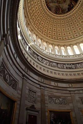 Washington Dc - Us Capitol - 01138 Art Print