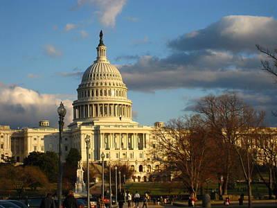 Steps Photograph - Washington Dc - Us Capitol - 12126 by DC Photographer