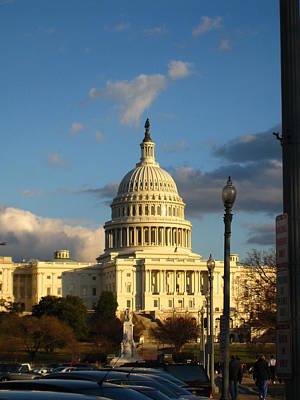 Washington Dc - Us Capitol - 12127 Art Print by DC Photographer