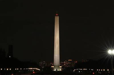 Washington Dc - Washington Monument - 01135 Art Print by DC Photographer