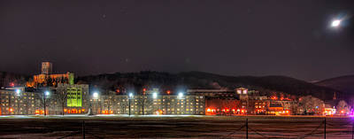 Photograph - Washington Hall At Night by Dan McManus