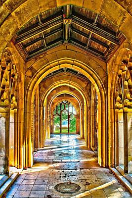 Photograph - Washington Memorial Chapel - Hall by Nick Zelinsky