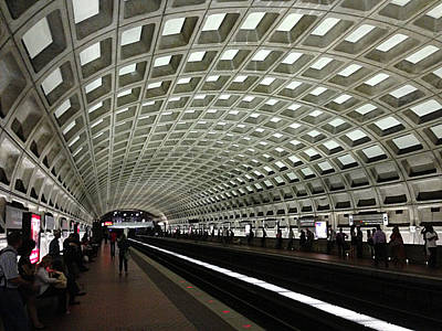 Photograph - Washington Metro by Richard Reeve