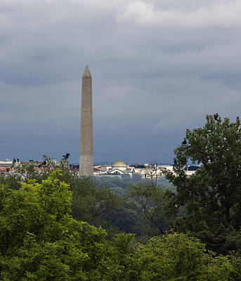 Photograph - Washington Monument 2 by David Lester