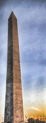 Photograph - Washington Monument 2004 by Gary Slawsky