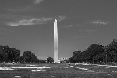 Photograph - Washington Monument And Mall  by John McGraw