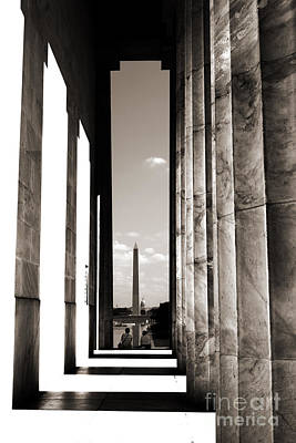 Photograph - Washington Monument by Angela DeFrias