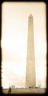 Open Impressionism California Desert - Washington Monument by Brian Gray