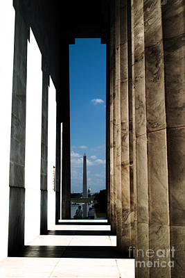 Photograph - Washington Monument Color by Angela DeFrias
