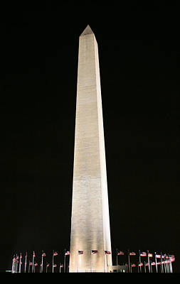 Photograph - Washington Monument by JC Findley