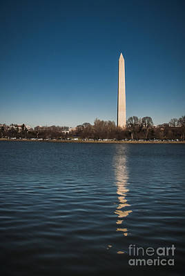 Photograph - Washington Monument by Ken Johnson