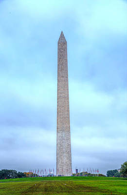 Photograph - Washington Monument by Mark Andrew Thomas