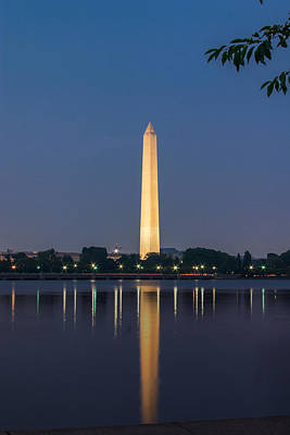 Photograph - Washington Monument by Mary Almond